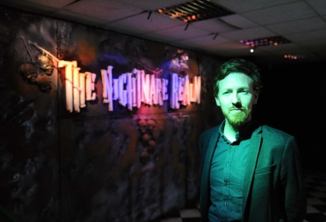 EE FEATURES 14/10/2015 (re elaine duggan) ... Karl O'Connor, managing director, at The Nightmare Realm, Albert Quay, Cork. Picture: Denis Minihane.